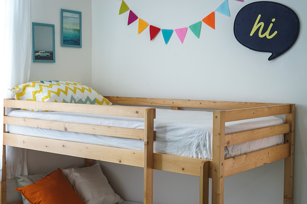 NEO LOW HEIGHT BUNK BED